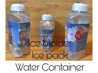 Ice Molder / Water Container