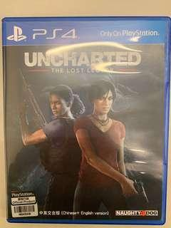 Uncharted the lost legacy PS4 二手九成新
