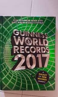 2017 Guinness book of records hard cover