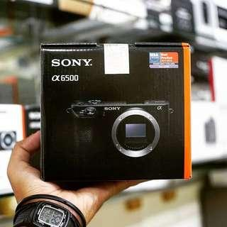 Kredit sony a6500 body only