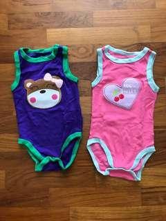 🚚 6-month Sleeveless Baby's Romper