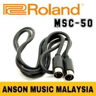 Roland MSC-50 MIDI Cable