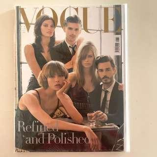 Collector's Copy of Vogue Italia July 2014 Issue (Fold-out cover photographed by Steven Meisel)
