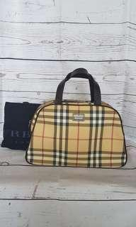 Burberry Bowling bag Authentic