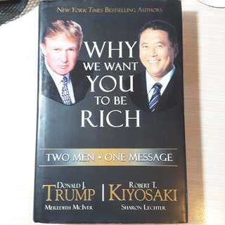 Buku bekas WHY WE WANT YOU TO BE RICH