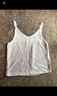 White spag top