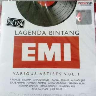 Lagenda Bintang Emi Vol.1 VCD Karaoke P Ramlee Saloma