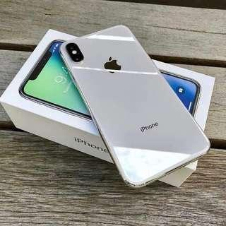 Kredit iPhone X 256Gb silver