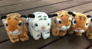 🚚 Stuffed Toy Animals - Tiger