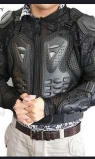Motorbike protective armour suit