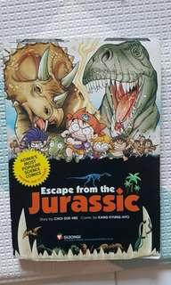 Escape from Jurassic comic book