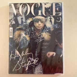 Collector's Copy of Vogue Italia Nov 2011 issue (Raquel Zimmermann short by Steven Meisel)