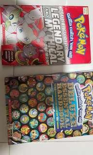 Pokemon Official Guide to Mythical n legendary book
