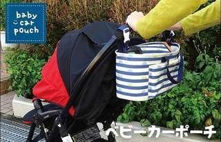日本 Decole BB車掛袋 兩用 手挽 實用袋