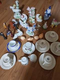 China ware small pcs