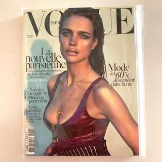 Collector's Copy! French Vogue September 2014- Natalia Vodianova shot by Mert & Marcus
