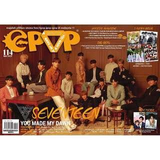 🛒READYSTOCK🛒 EPOP ISU 114 (March '19) (Seventeen/Park Bo Gum cover)