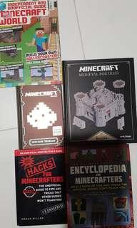 Minecraft Hardcover books