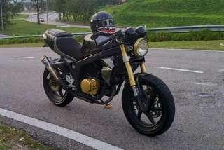 Modern Cafe Racer - Naza blade 250 carburettor