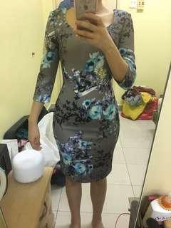 Doublewoot floral bodycon dress