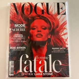 Collector's Copy! French Vogue March 2014 Issue- Lara Stone by Mert & Marcus