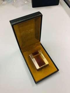 Authentic Dupont 火機 Lighter Linge 1 Working with box (Also have Alden, Rolex, Patek, Church)