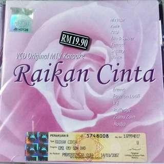 Raikan Cinta VCD Karaoke M.Nasir Awie KRU Ella & Spider