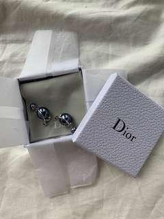 Christian Dior Double Ended Earring