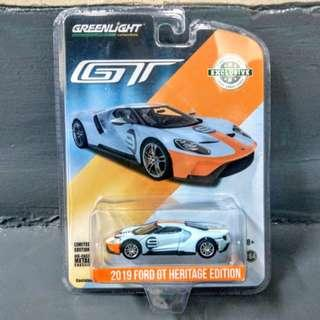 2019 Ford GT heritage edition (#9 Gulf racing blue)