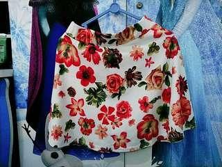 Flower Skirt / rok bung