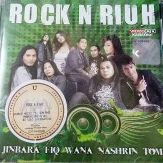 Rock N Riuh VCD Karaoke Piq feat. Mirwana