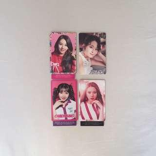 chaeyoung japan photocards