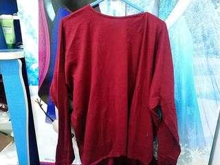Sweatshirt Maroon
