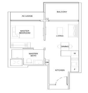 ⭐ The Florence Residences 1Br. Price List & Units Avail