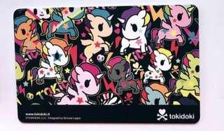 Limited Edition TokiDoki Ez-link Cards