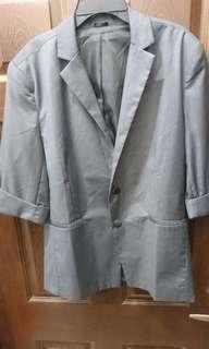 🚚 7分袖 便西裝外套