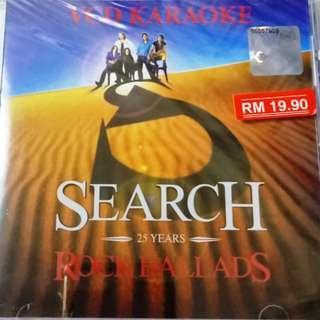 Search 25 Years Rock Ballads VCD Karaoke