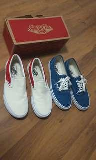 Vans Shoes classic and slip on