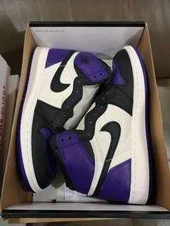 Air Jordan 1 Purple Court