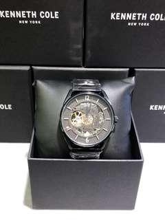 Kenneth Cole black steel automatic 黑鋼機械表