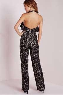 🚚 Pretty and sexy Jumpsuit, buy from another seller and sad 😢 I can't wear it, to small for me