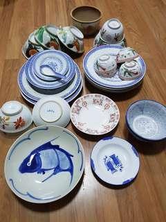 China bowl n plates