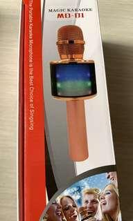 🚚 Wireless Microphone Karaoke speaker
