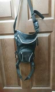 日本品牌重機腿包,買一送另一個藍色輕腿包