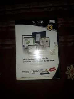 Zenius CD set Kimia SMA