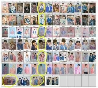 WTB want to buy SEVENTEEN CARATLAND 2019 PHOTOCARD PC