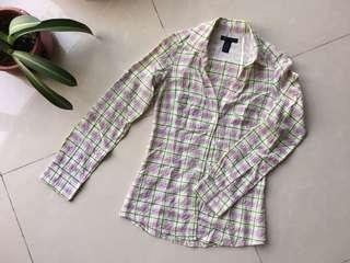 Checkered Flannel from Mango