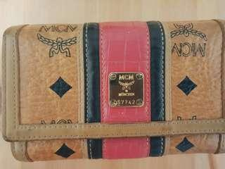 MCM wallet for Sale