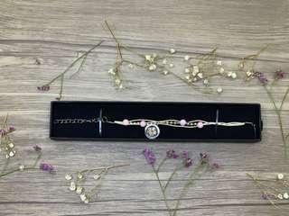 🚚 Preserved Flower Bracelet- White Daisy