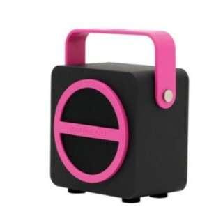 BNIB Sonic Gear Pandora Mini Speaker pink
